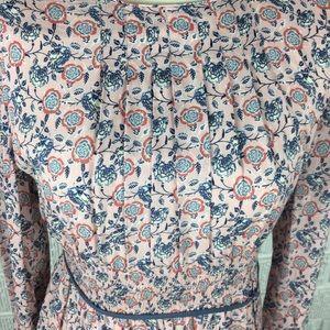 Zara Dresses - Zara Girls pink floral dress Soft Collection 13/14